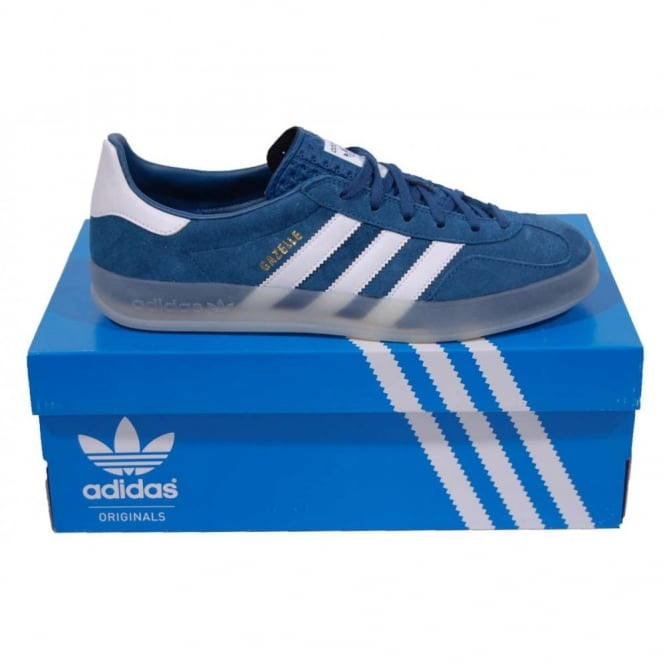adidas gazelle red and blue