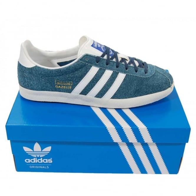 881486b7655d Adidas Originals Gazelle OG Dark Petrol - Mens Clothing from Attic ...