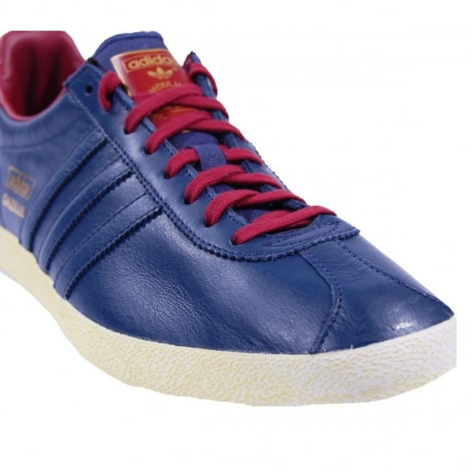 navy blue gazelles