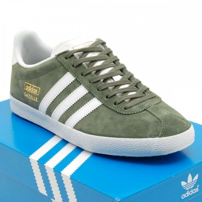 adidas gazelle og base green