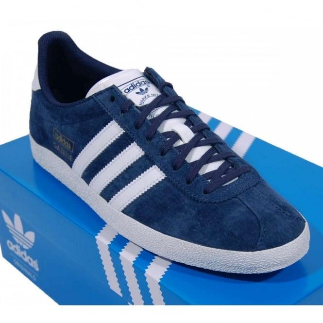 adidas gazelle dark blue 311916e68796