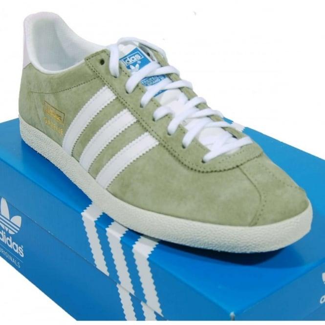 Adidas Gazelle Green Suede