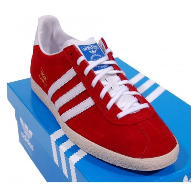 Gazelle OG Suede University Red White