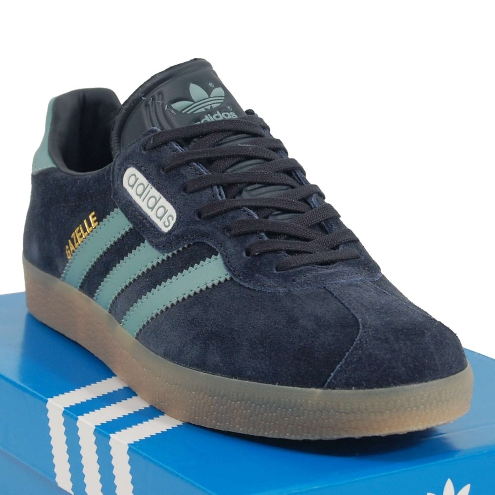 Adidas Originals Gazelle Super Night Navy Vapour Steel