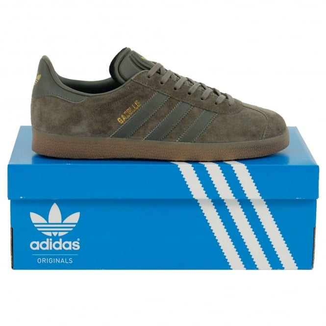 Adidas Originals Gazelle Utility Grey Gum