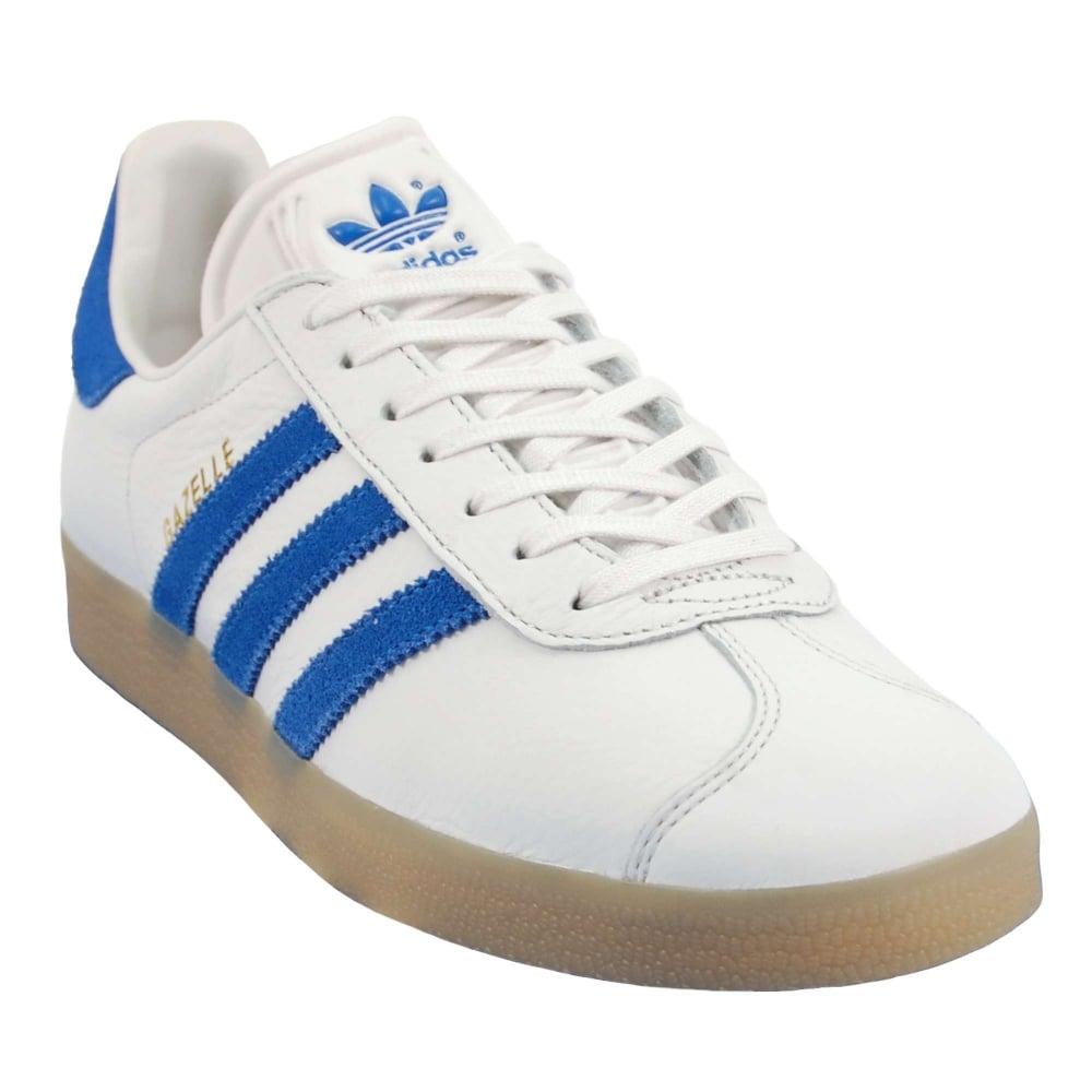 Gazelle Vintage White Bold Blue Gum