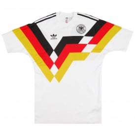 Germany 1990 Jersey White
