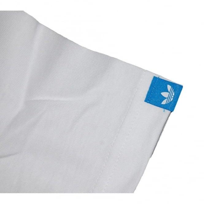 Adidas Originals Gt Tag T Shirt White Mens Clothing From Attic