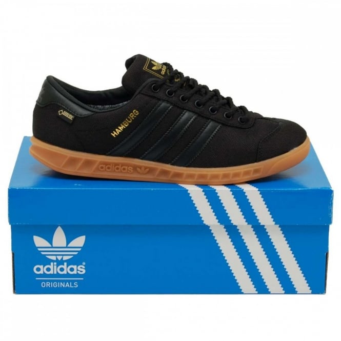 e219df1fbbf7 Adidas Originals Hamburg Gore-Tex Core Black Gum - Mens Clothing ...
