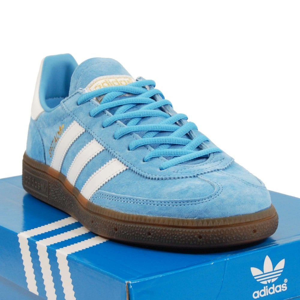 47e759ea72 Adidas Originals Handball Spezial Light Blue Footwear White Gum ...