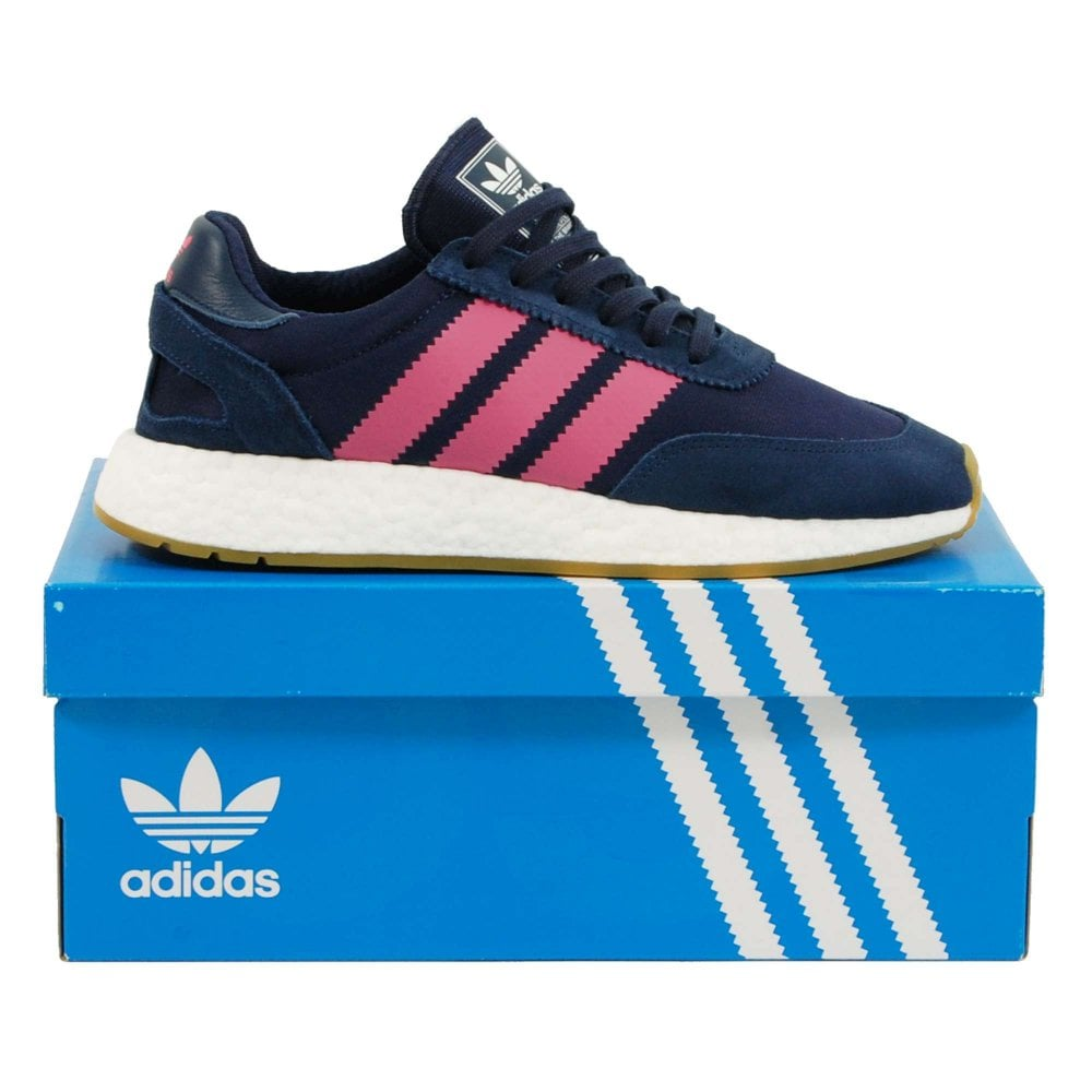 0b25a07b6bfd Adidas Originals I-5923 Samstag Night Indigo Real Pink Gum - Mens ...