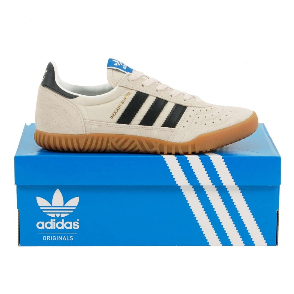 low priced 666b4 164a3 Adidas Originals Indoor Super Clear Brown Core Black Gum - Mens ...