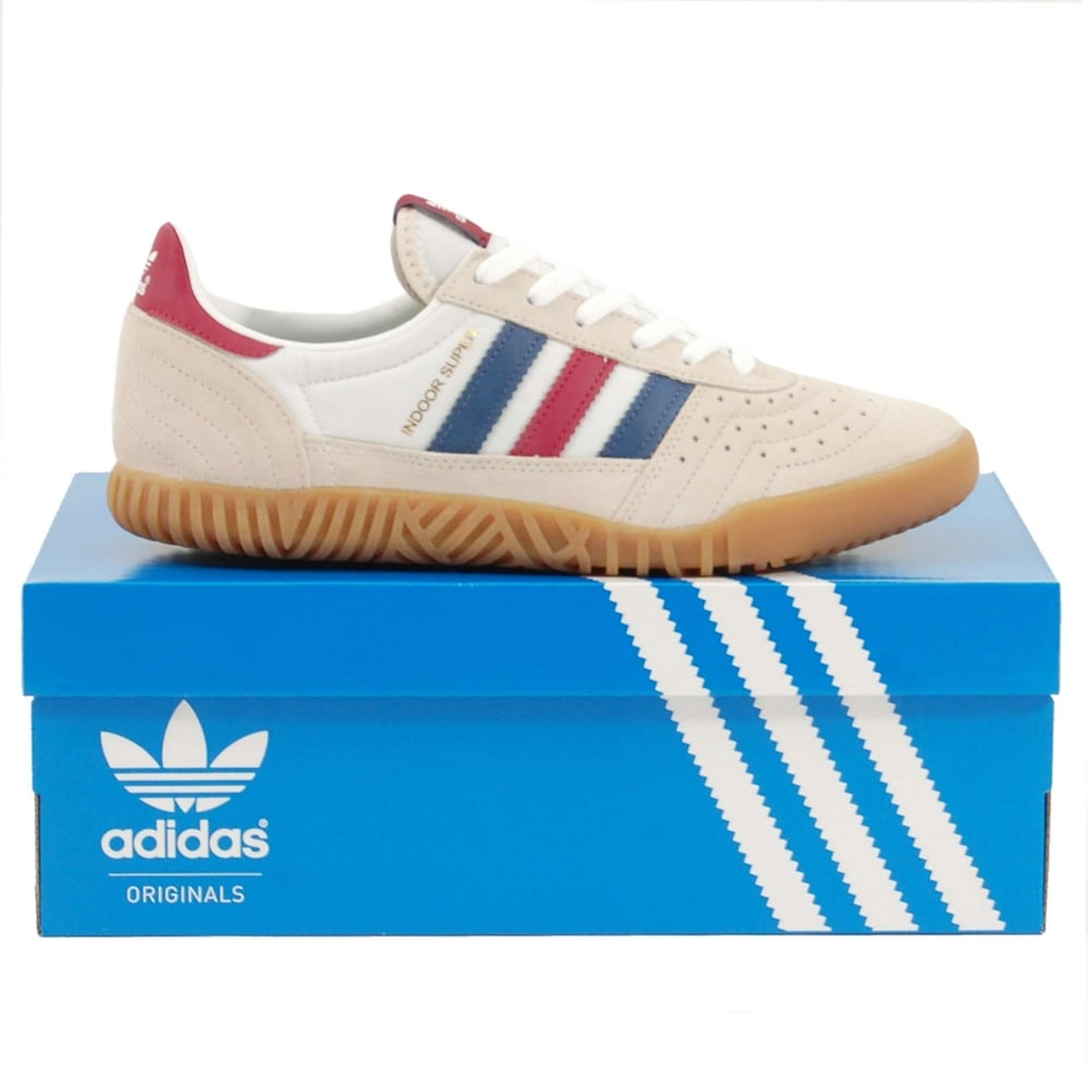 adidas Indoor Super Clear Brown  Noble Indigo  Mystery Ruby 100 ... d9e2aa0fc55