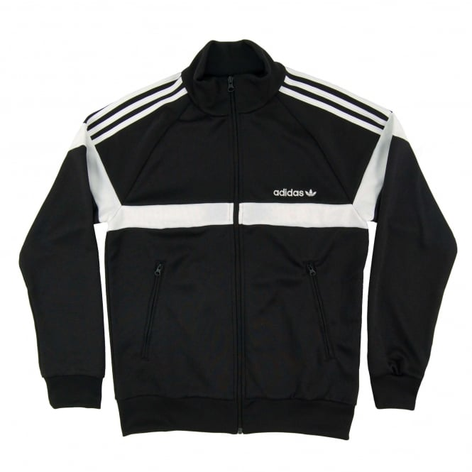Adidas Originals Itasca Track Top Black White