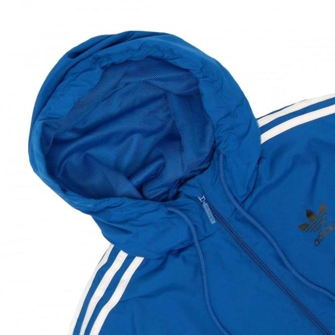Adidas Originals Itasca Windbreaker Jacket EQT Blue