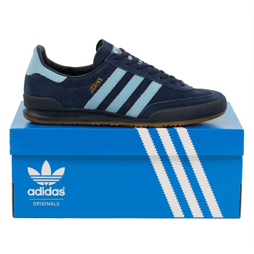 Adidas Originals Jeans Collegiate Navy Ash Blue Gum - Mens Clothing ... 614445467dd8