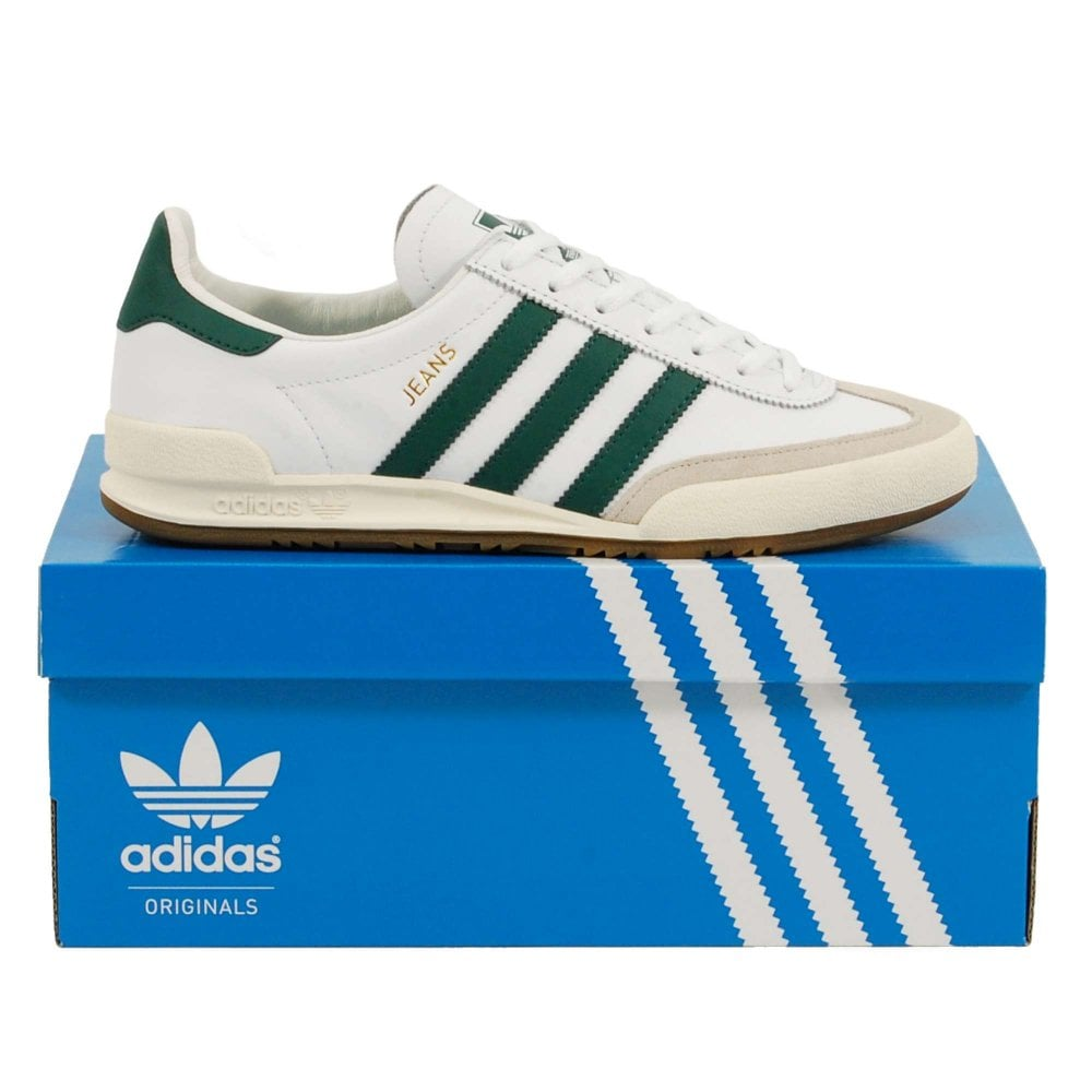 adidas Originals Jeans footwear white collegiate green clear brown