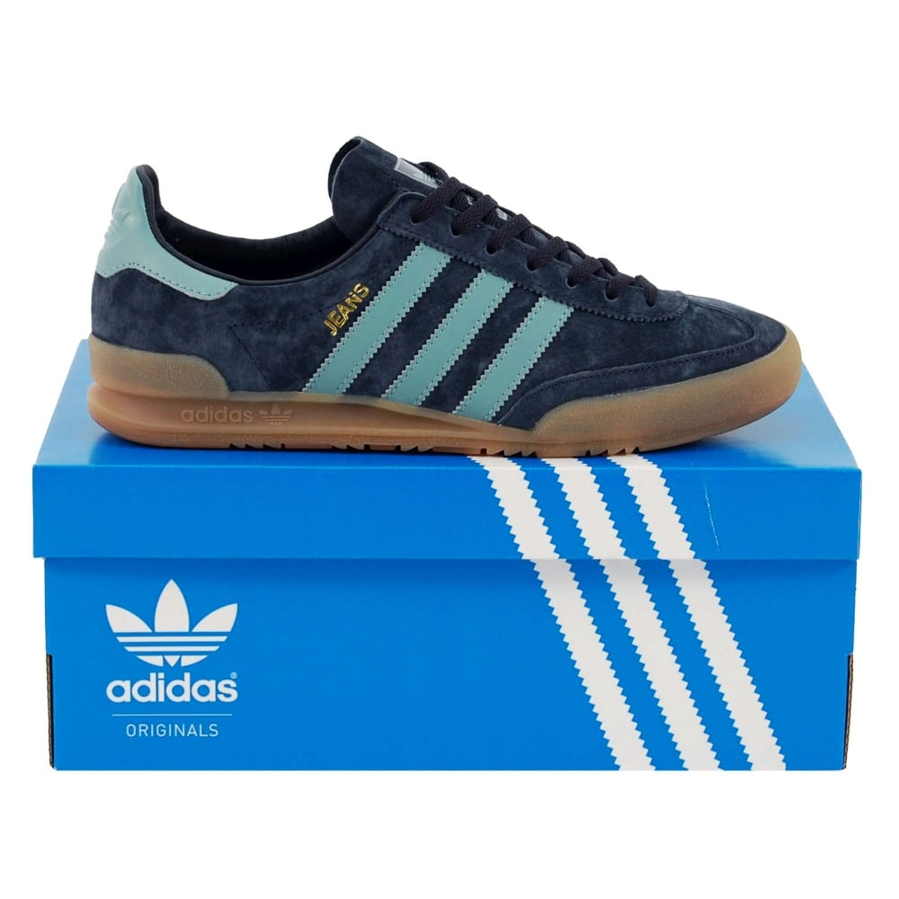 9dc1e758beb Adidas Originals Jeans Night Navy Vapour Steel - Mens Clothing from ...