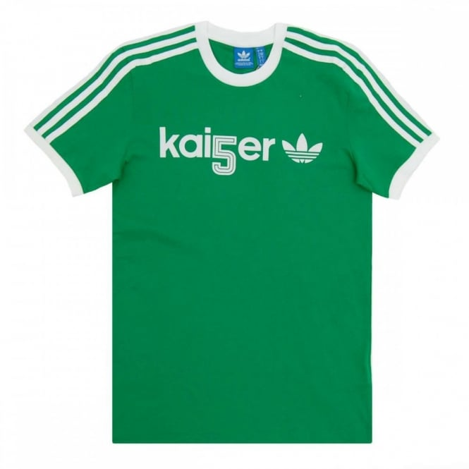 Adidas Originals Trefoil T Shirt Green