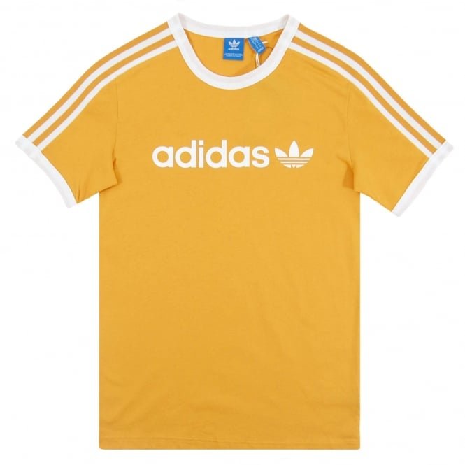 Adidas Originals Linear T-Shirt Tactile Yellow