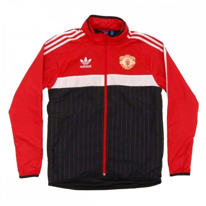 Manchester United adidas Originals Windbreaker Jacket Red