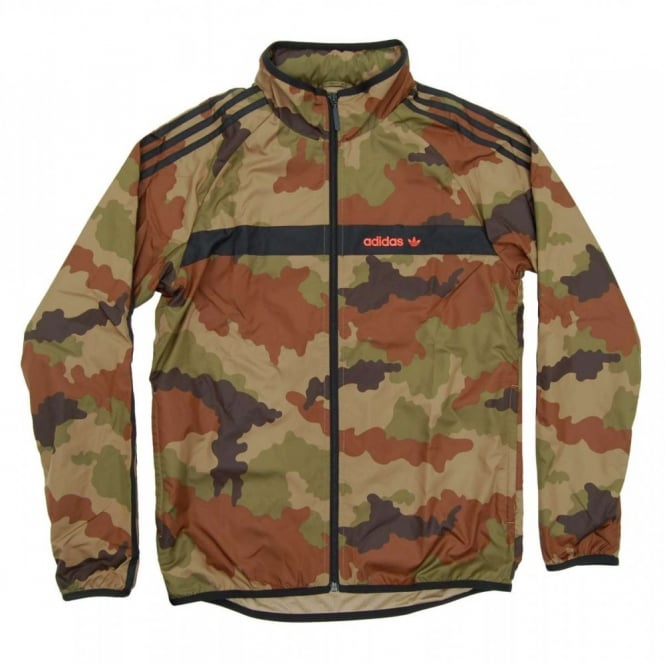adidas originals marathon windbreaker camo hemp mens clothing from attic clothing uk. Black Bedroom Furniture Sets. Home Design Ideas