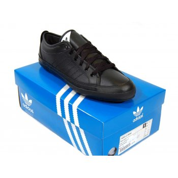 797708eeeb2916 Adidas Originals Nizza Lo Remo Leather Black - Mens Clothing from ...