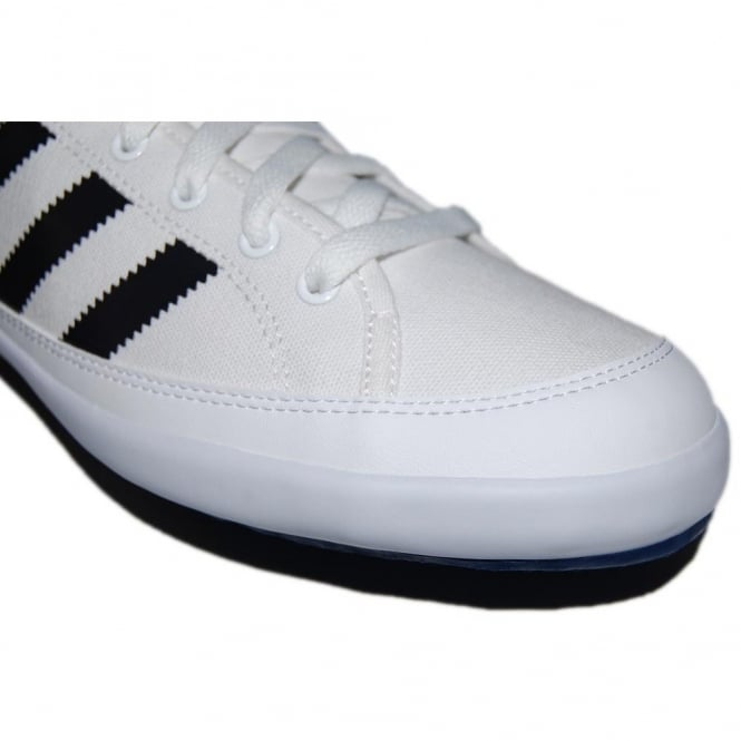 b95470252cb07f Adidas Originals Nizza Lo Remo White Black - Mens Clothing from ...