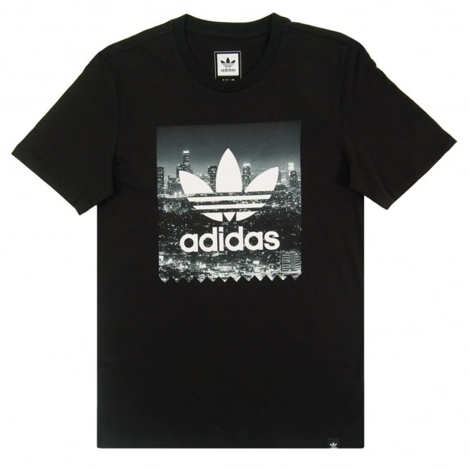 Adidas Originals NYC Photo T-Shirt Black