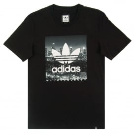 NYC Photo T-Shirt Black
