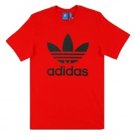 Original Trefoil T-Shirt Core Red