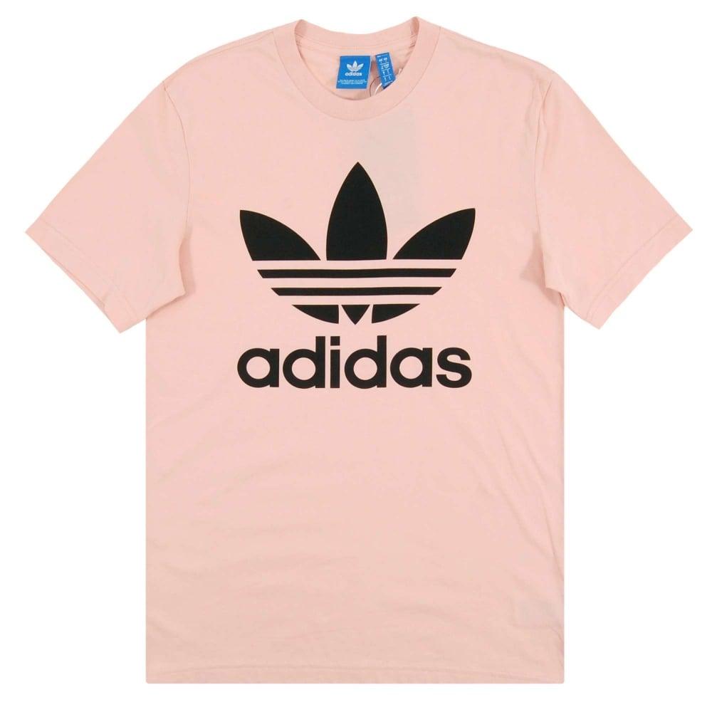 Adidas Originals Original Trefoil T-Shirt Vapour Pink - Mens ... 868e23b47979