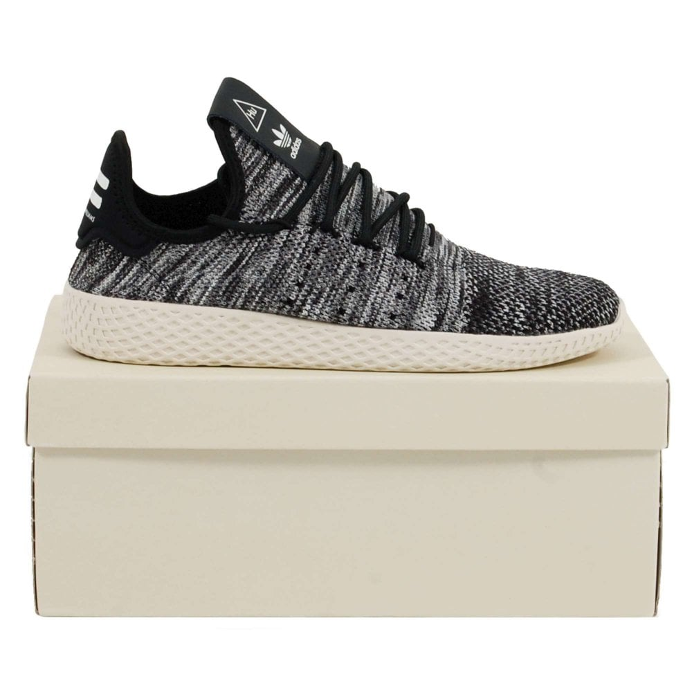07d642f517650 Adidas Originals Pharrell Williams Tennis HU Primeknit Core Black ...