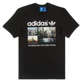 Photo T-Shirt Black