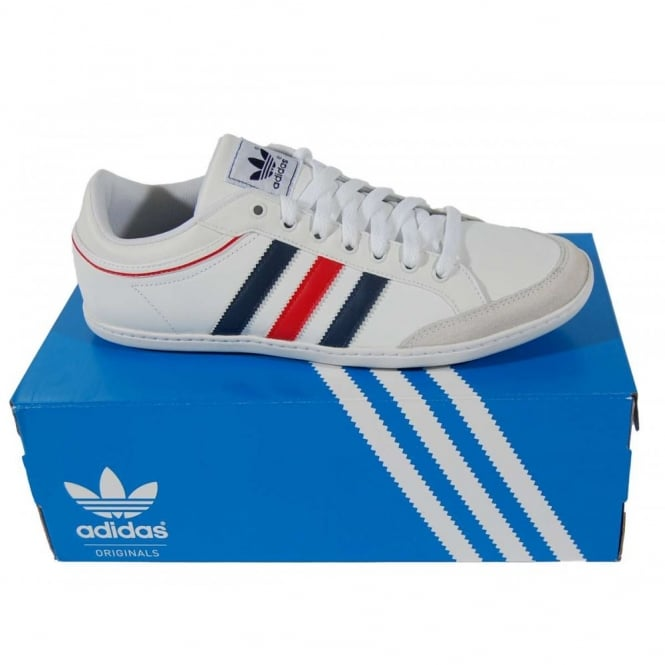 Adidas Originals Plimcana Low White - Mens Clothing from Attic ... f29b5a38ccc6