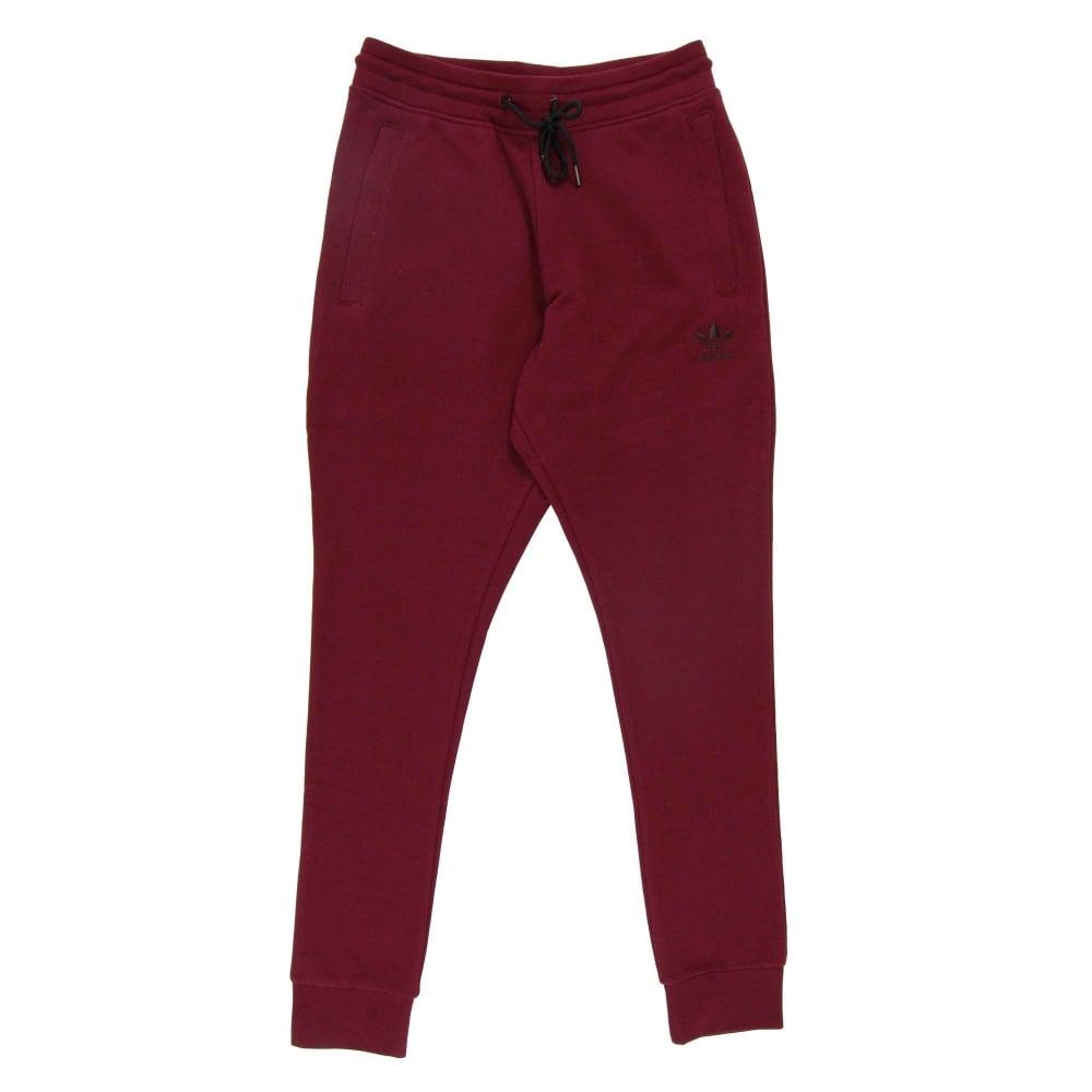 Adidas Originals Premium Trefoil Sweat Pant Maroon - Mens Clothing ... a9aa0885bbb