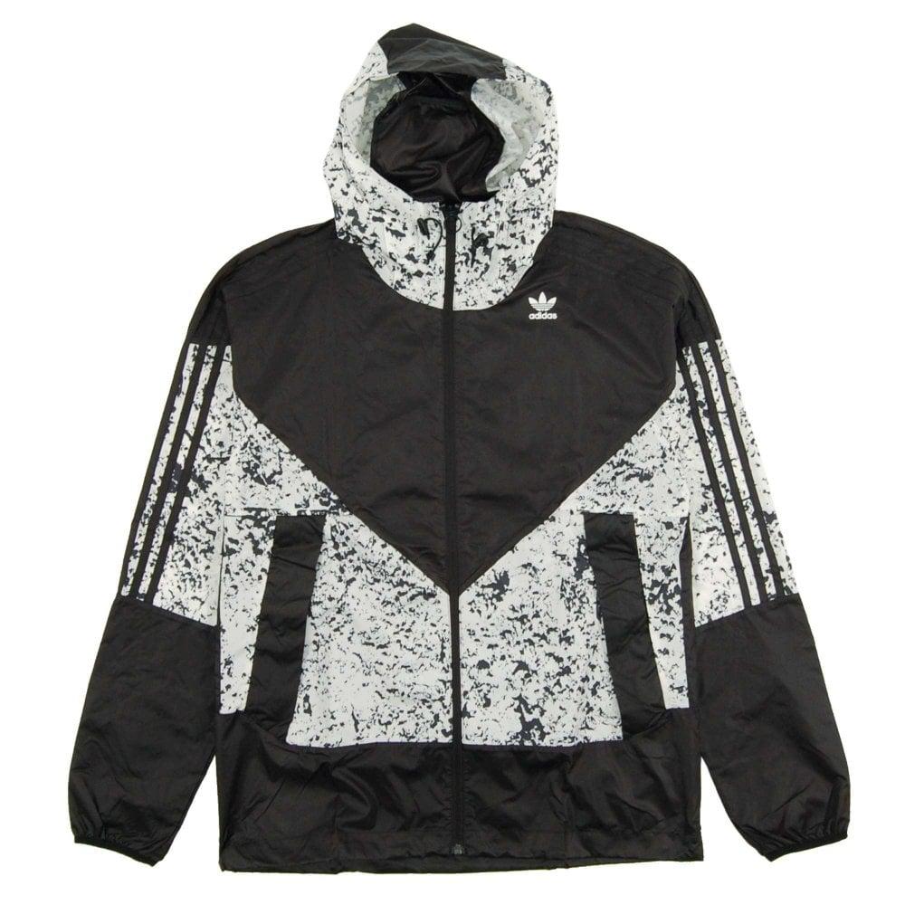 c620f4fbd2 Adidas Originals Project 3 Karkaj All Over Print Jacket Black Off ...