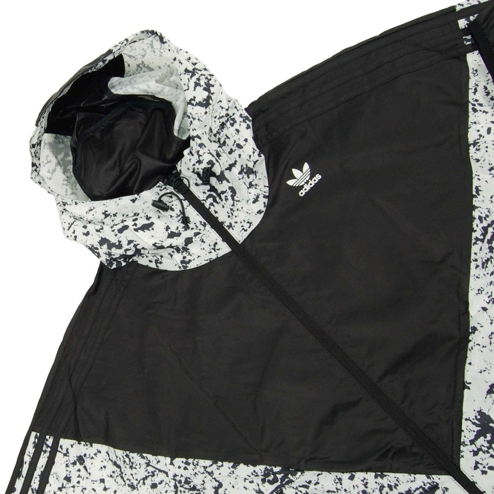 Adidas Originals Project 3 Karkaj All Over Print Jacket Black Off White