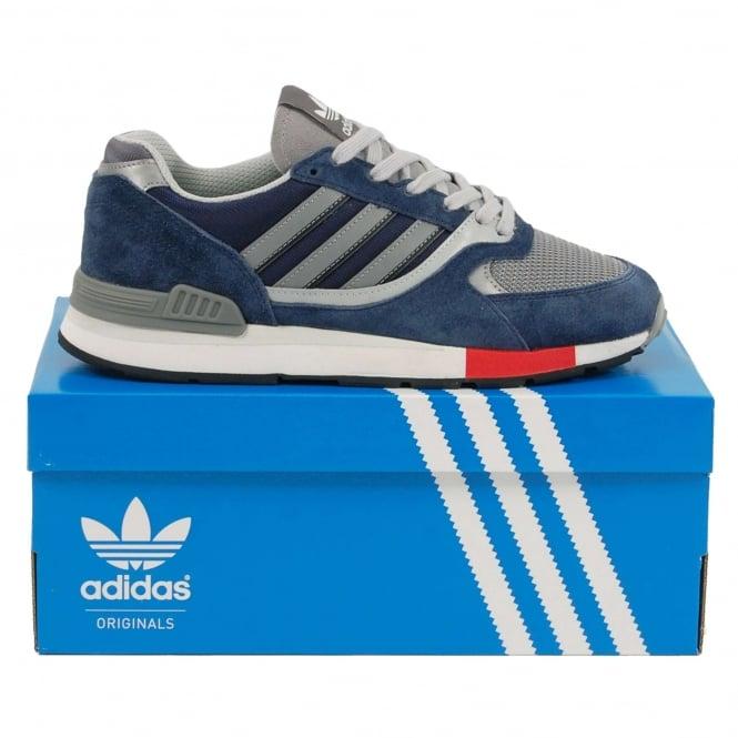 a30f383f8ab3e3 Adidas Originals Quesence Collegiate Navy Scarlet Grey Two - Mens ...