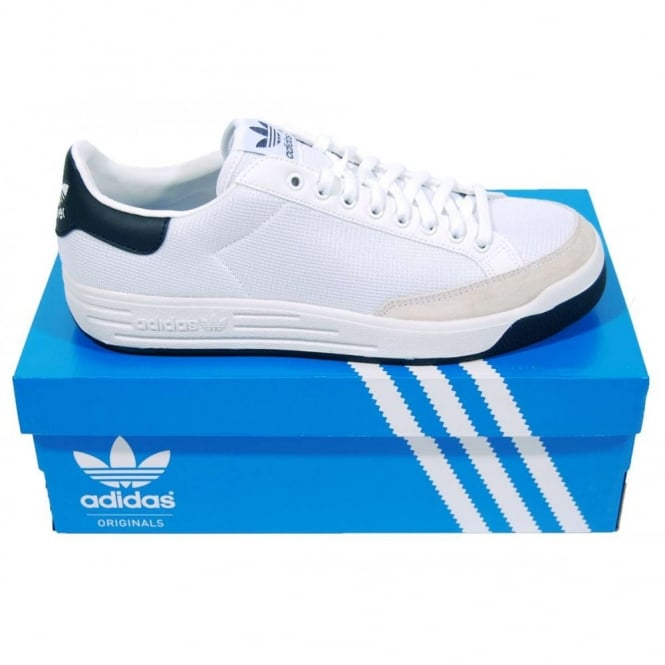 Adidas Originals Rod Laver Running White Navy - Mens Clothing from ... 576576a52
