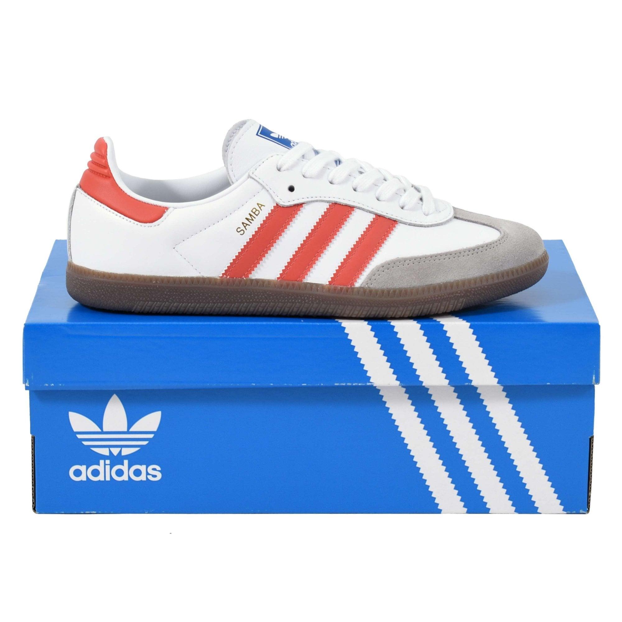 adidas originals samba white blue