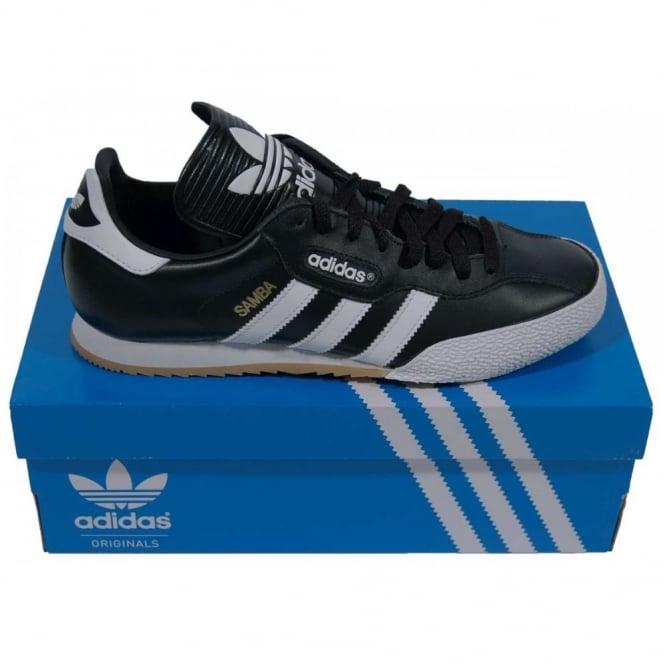 promo code a3c76 2377e Adidas Originals Samba Super Black White - Mens Clothing from Attic  Clothing UK