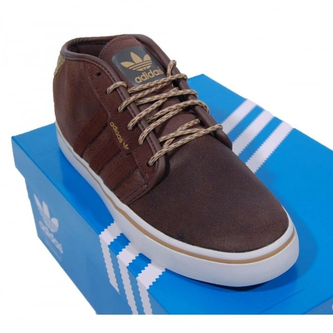 Adidas Originals Seeley Mid Auburn Tan White