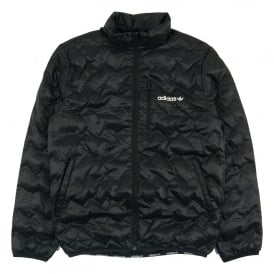 Serated Jacket Black