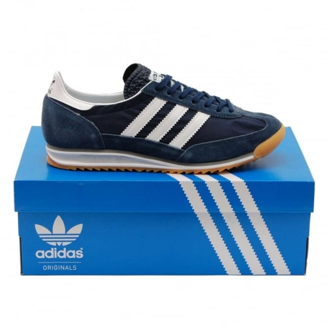 adidas originals sl72 night navy white gum mens clothing. Black Bedroom Furniture Sets. Home Design Ideas