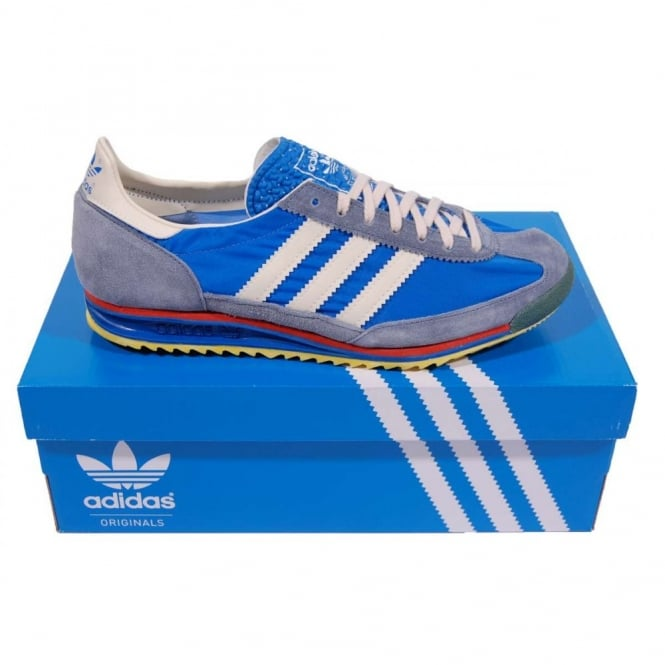 Adidas Originals Sl72 Vintage Airforce Blue Legacy White