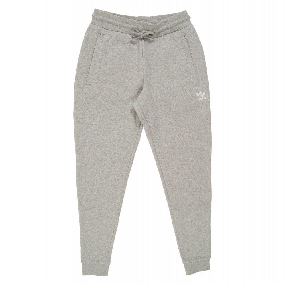 order 50% off 2018 shoes Adidas Originals Slim Fleece Joggers Medium Grey Heather