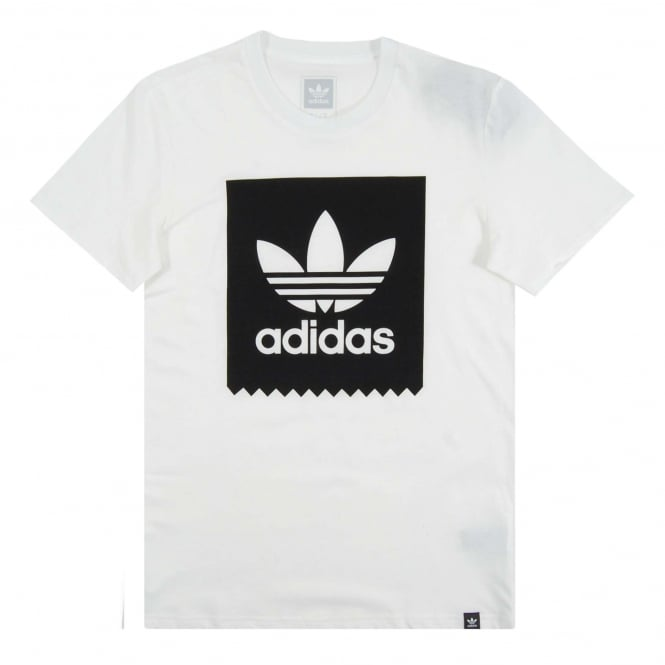 Adidas Originals Solid Blackbird T-Shirt White