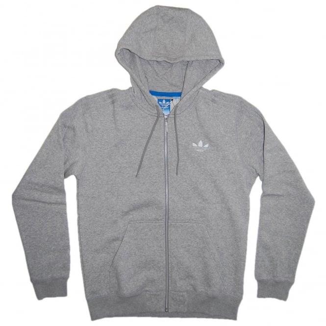 Adidas Originals SPO Hooded Flock Heather Grey - Mens Clothing from ... 4a531a5e1