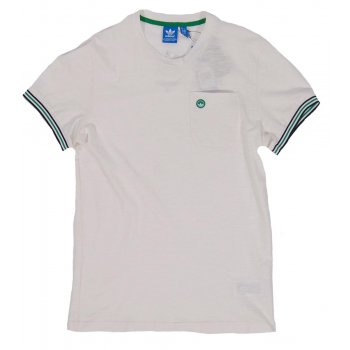 Adidas originals stan ringer t shirt white mens clothing for Adidas ringer t shirt